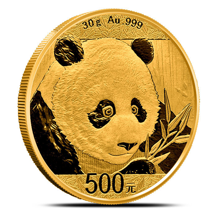 2018 Chinese 30 gram Gold Panda Not Sealed