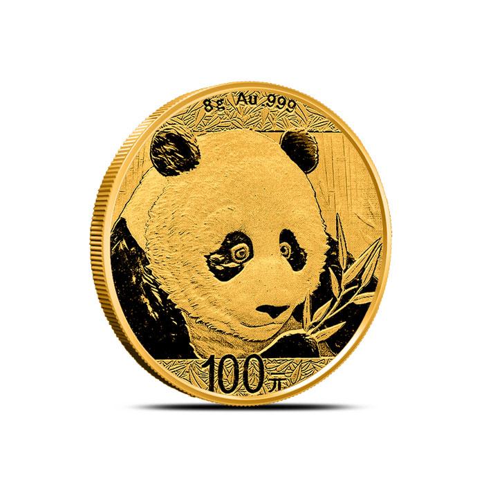 2018 8 gram Chinese Gold Panda