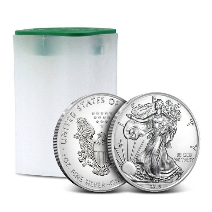 American Silver Eagle Roll