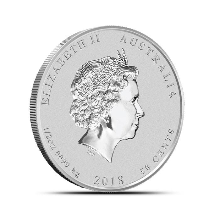 1/2 oz Silver Lunar Dog Coin | Perth Mint
