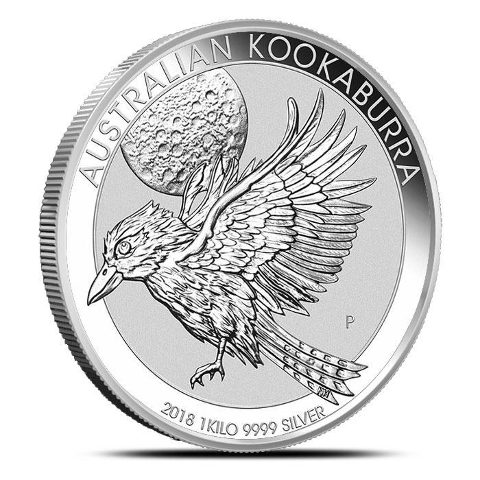 2018 Australia Kilo Silver Kookaburra