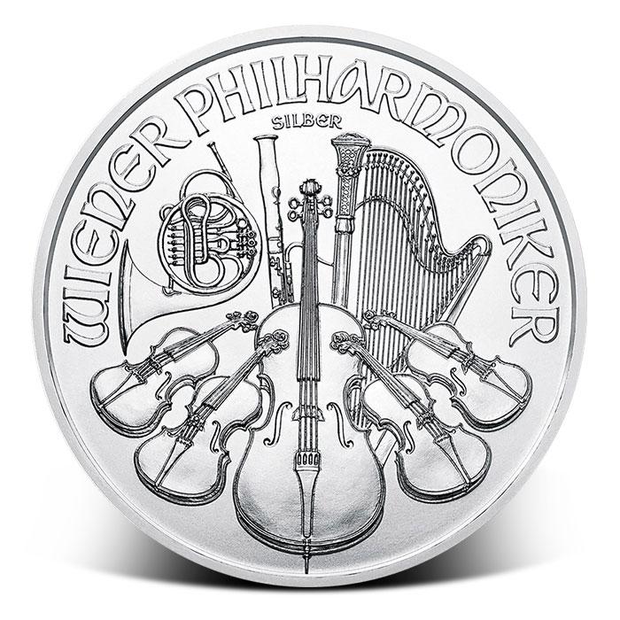 2018 Austrian 1 oz Silver Philharmonic