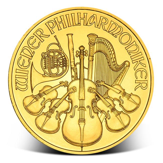 2018 1 oz Austrian Gold Philharmonic