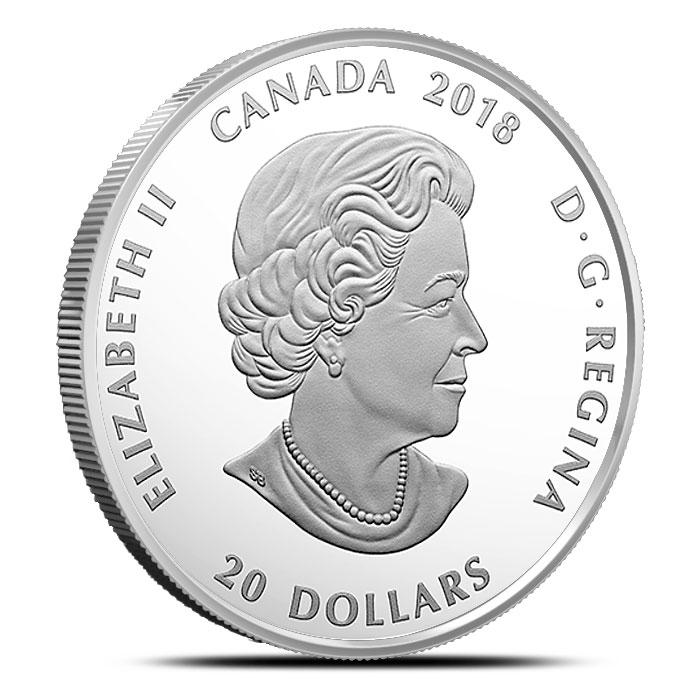 2018 Canadian 1 oz Silver Mosaics | Caribou