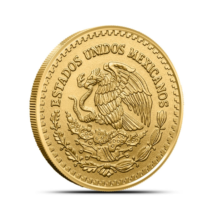 2018 Mexican 1/2 oz Gold Libertad Coin Reverse