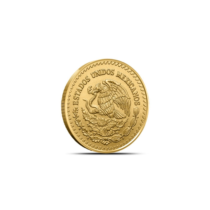 2018 Mexican 1/20 oz Gold Libertad Coin Reverse