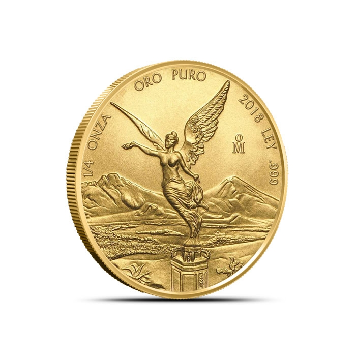 2018 Mexican 1/4 oz Gold Libertad Coin