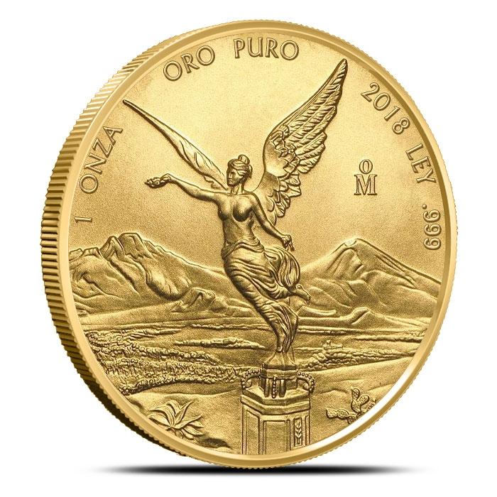 2018 Mexican 1 oz Gold Libertad Coin