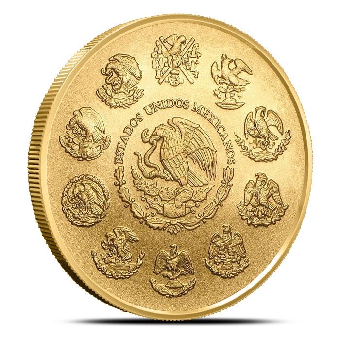 2018 Mexican 1 oz Gold Libertad Coin Reverse