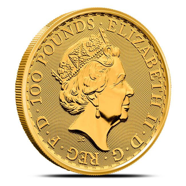 2018 Oriental Border 1 oz Gold Britannia