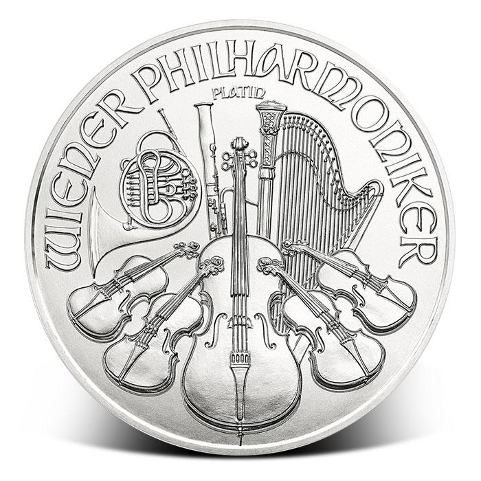 2018 Austrian 1 oz Platinum Philharmonic