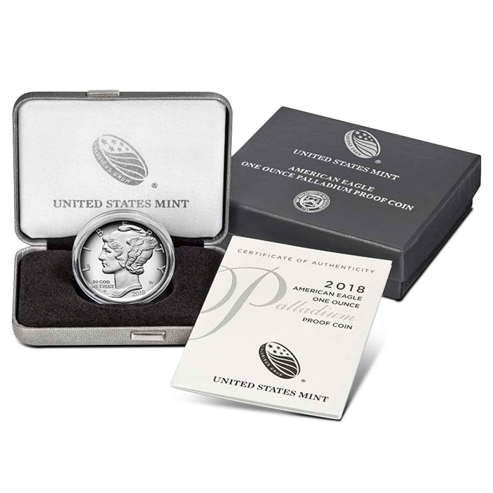 2018 1 oz Proof Palladium Eagle