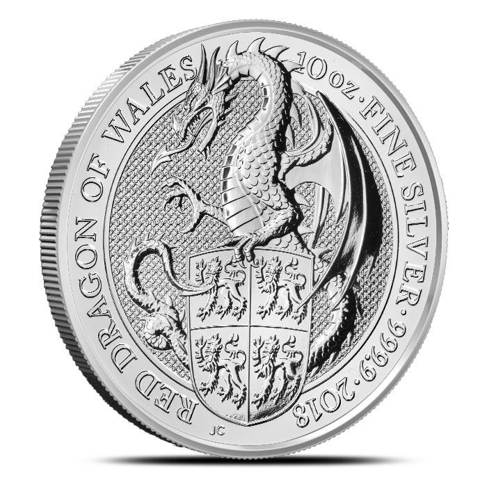 2018 British 10 oz Silver Queen
