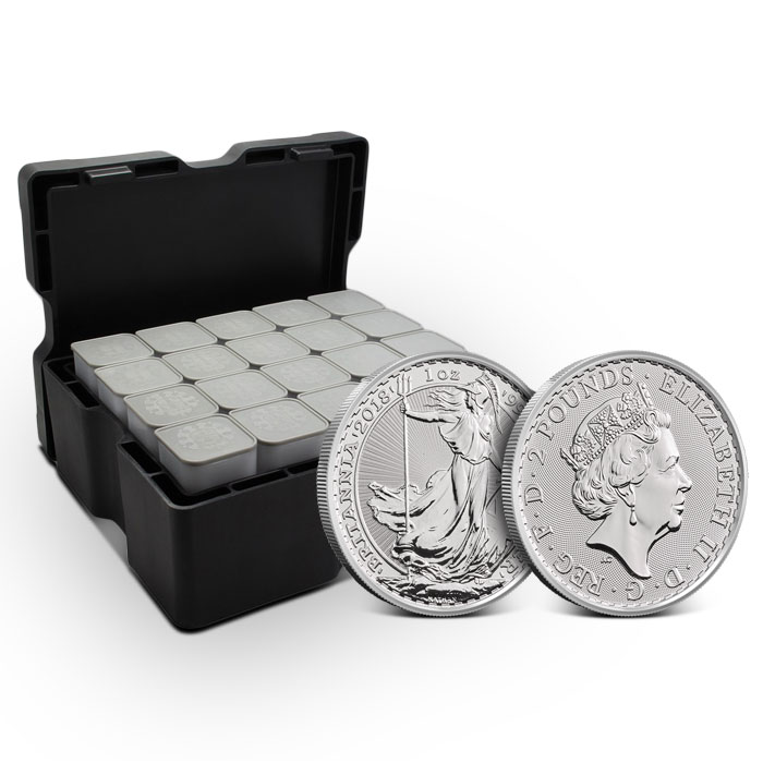 2018 Silver Britannia Monster Box