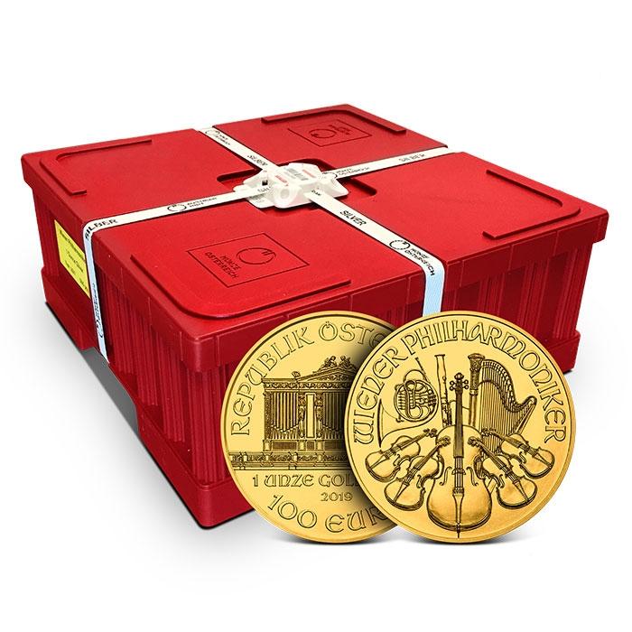 2019 Austrian 1 oz Gold Philharmonic Coin