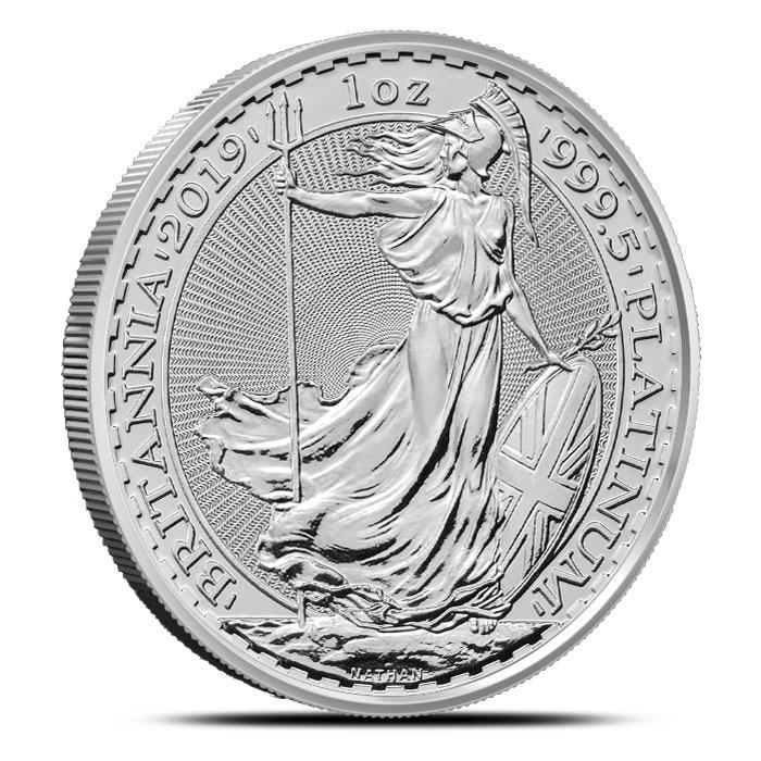 2019 British 1 oz Platinum Britannia