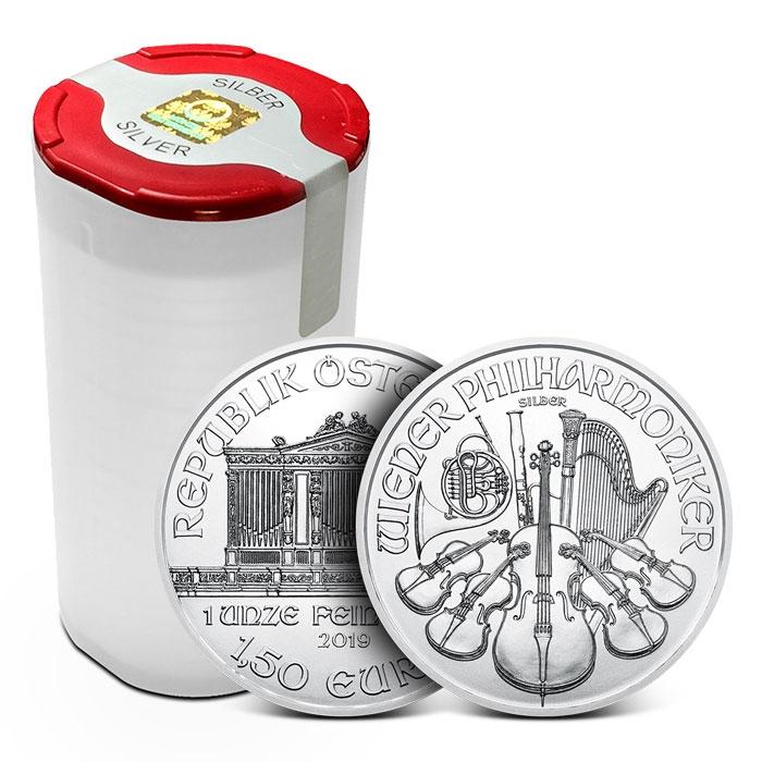 2019 Austrian 1 oz Silver Philharmonic Coin