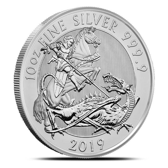 2019 British 10 oz Silver Valiant Coin