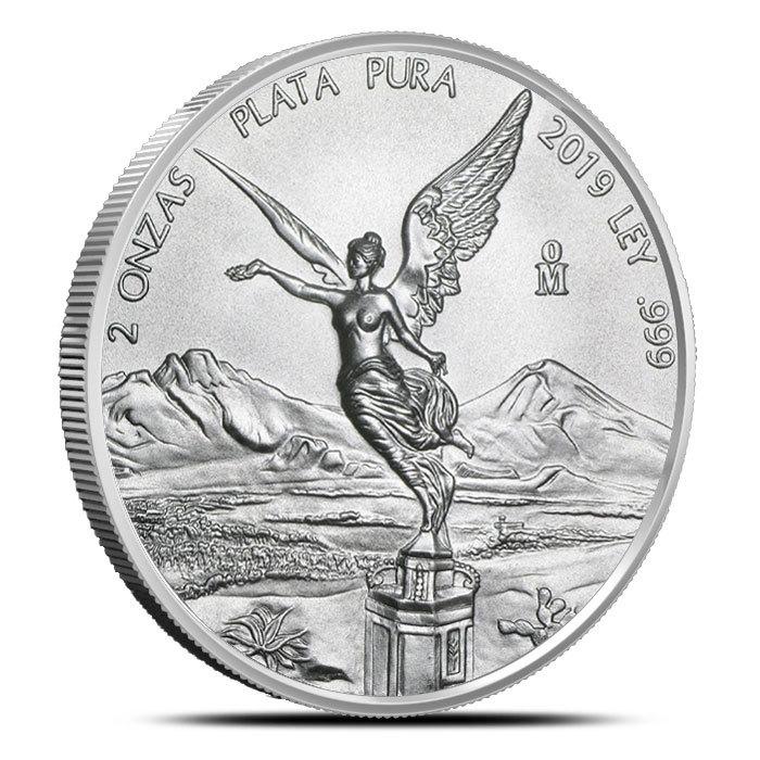 2019 Mexico 2 oz Silver Libertad