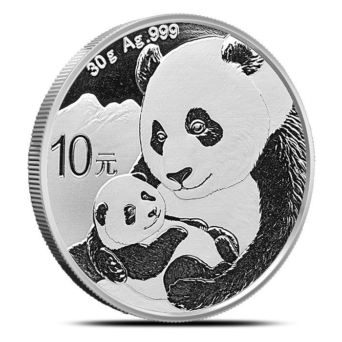 2019 Chinese 30 gram Silver Panda