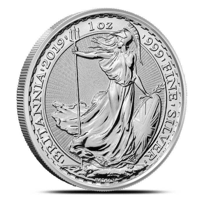 2019 British 1 oz Silver Britannia