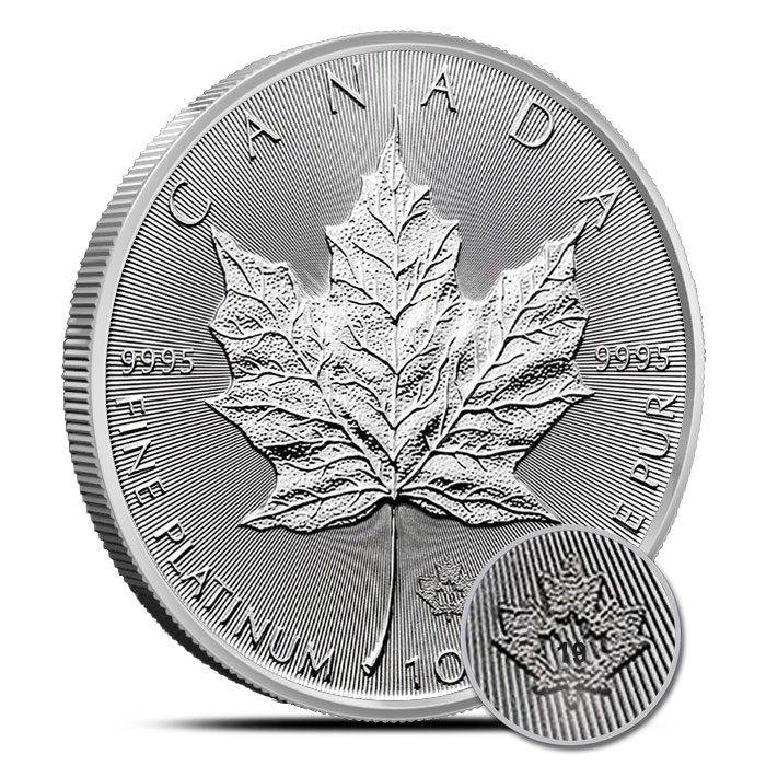 2019 Canadian 1 oz Platinum Maple Leaf