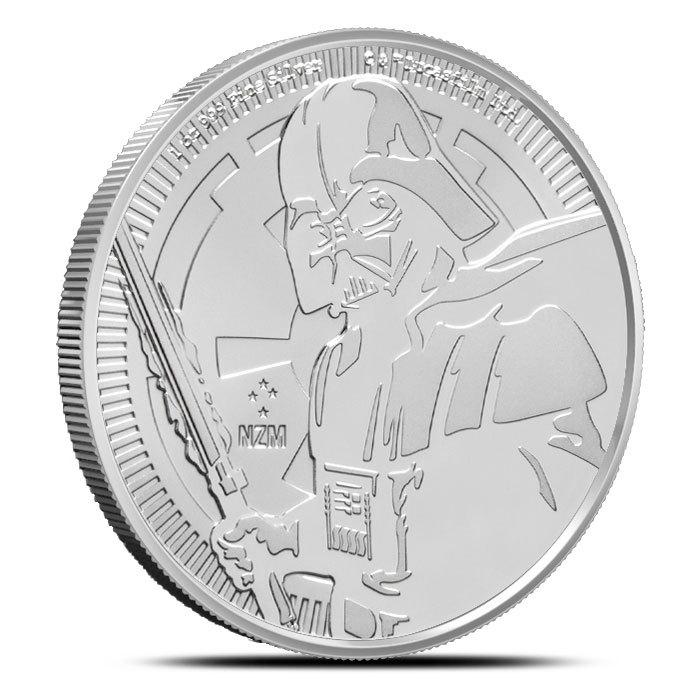 2019 Niue Darth Vader 1 oz Silver Coin Reverse