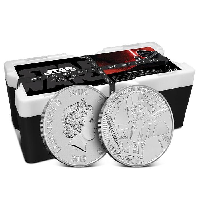 2019 Niue Darth Vader 1 oz Silver Coin Collectors box