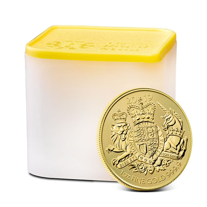 2019 Great Britain 1 oz Gold Coat of Arms
