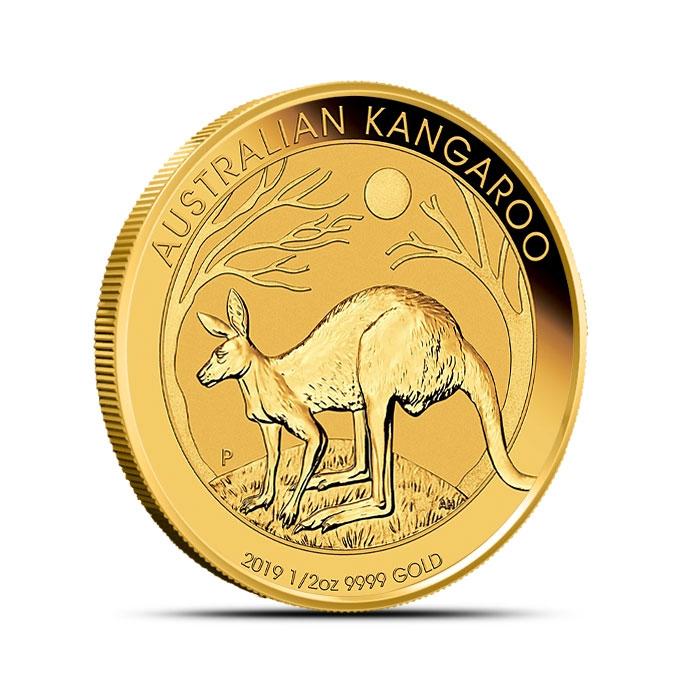 2019 Australian 1/2 oz Gold Kangaroo