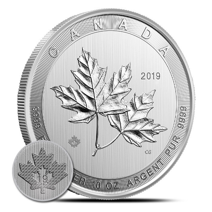2019 Canadian 10 oz Silver Magnificent Maple