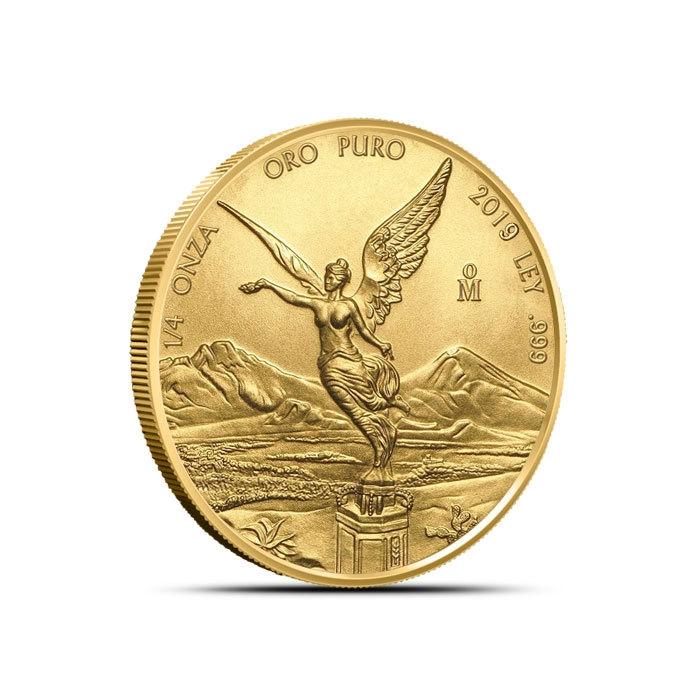 2019 Mexican 1/4 oz Gold Libertad Reverse