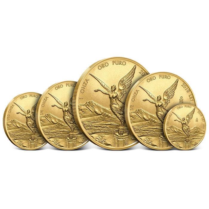 2019 Mexican Gold Libertad 5 Piece Set