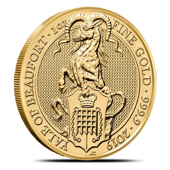 2019 British 1 oz Gold Queen