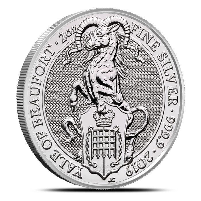 2019 British 2 oz Silver Queen