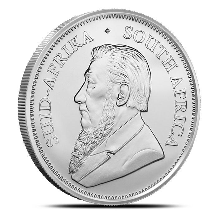 2019 South African 1 oz Silver Krugerrand Obverse