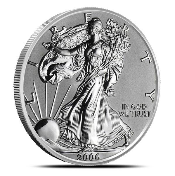 2006 American Silver Eagle | Burnished