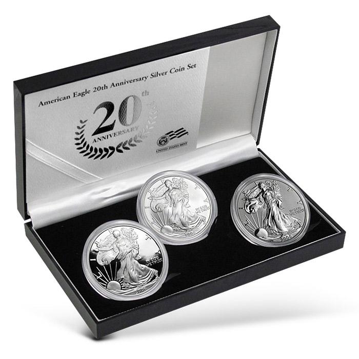 2006 Silver Eagle | 3 coin set