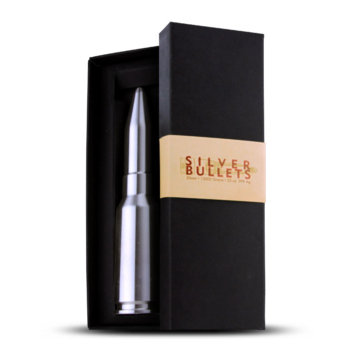 25 oz Silver Bullet   20mm