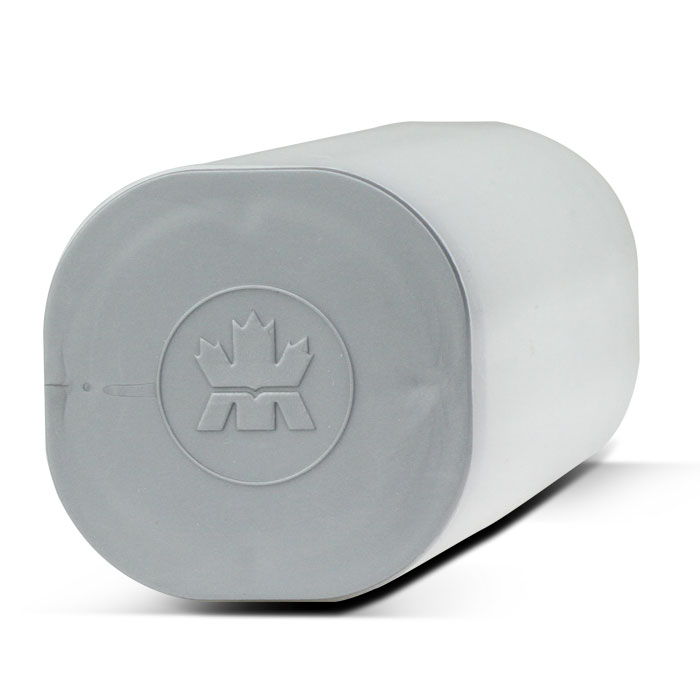 25th Anniversary Canadian Silver Maple | Silver Lid Coin Tube - flat