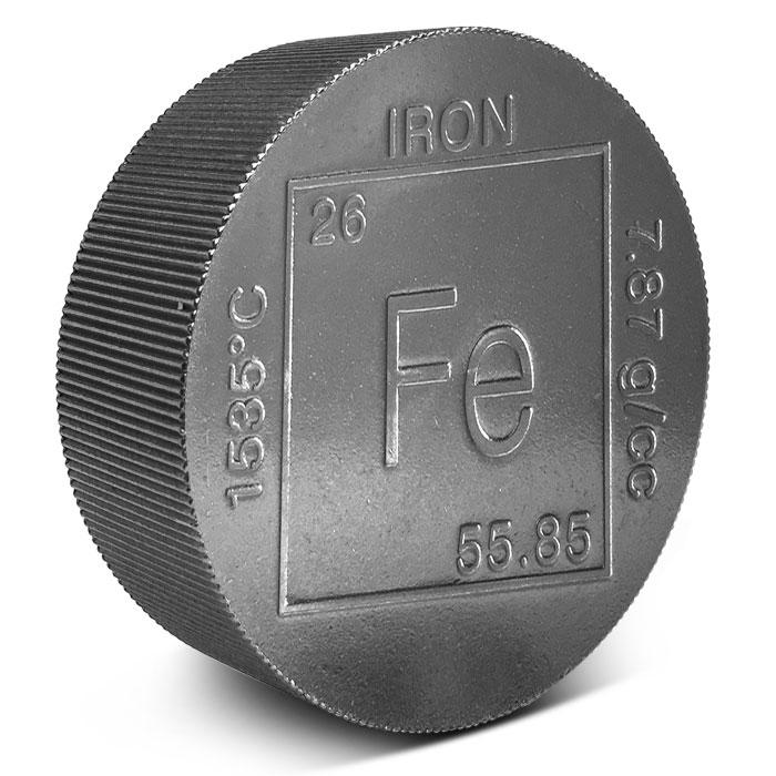 2 lb Iron Round