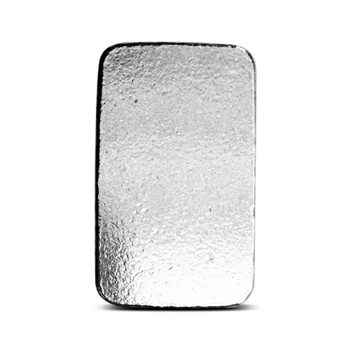 3 oz Atlantis Mint Silver Bar Back