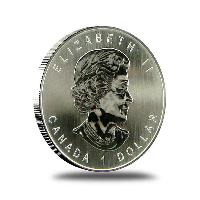 2006 Canada 1/2 Oz. Silver Wolf Coin Obverse