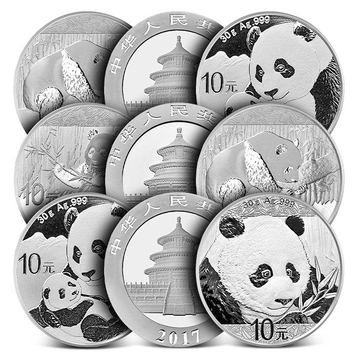 30 Gram Chinese Silver Pandas