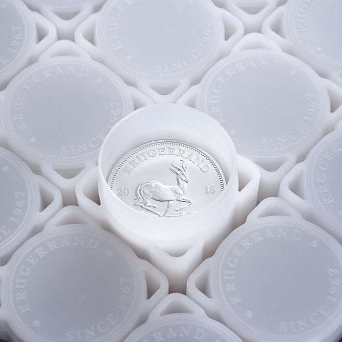 2018 Silver Krugerrand Coin Tube