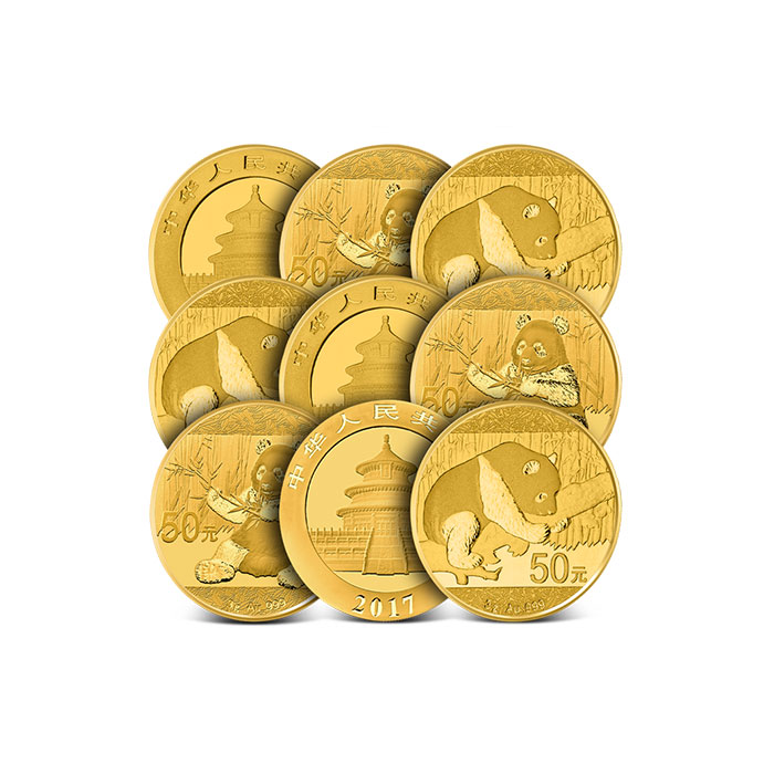 3 gram Chinese Gold Pandas
