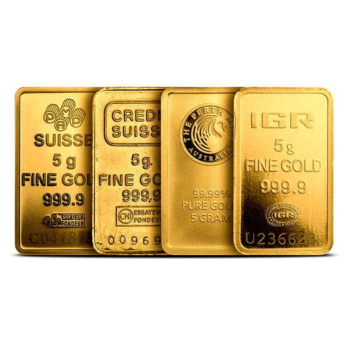 5 gram gold bar our choice no plastic