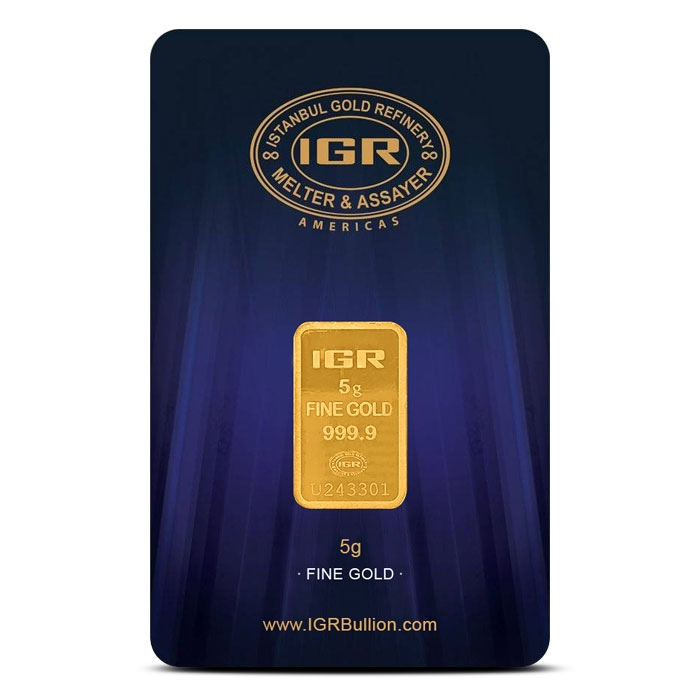 5 gram Gold Bar | Istanbul Gold Refinery