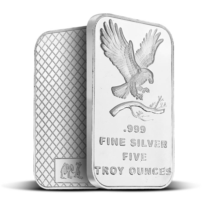 Eagle 5 oz Silver Bar | SilverTowne