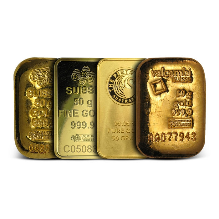 50 Gram Gold Bullion Bar